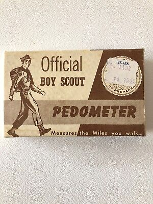 Vintage / Antique Official Boy Scout Pedometer Made In USA No. 1192