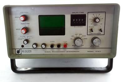 Bison Instruments 1570C Signal Enhancement Seismograph