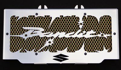 """cache / Grille de radiateur 600 GSF ou 650 GSF Bandit """"Hold up"""" + grilllage or"""