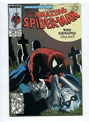 1988 MARVEL THE AMAZING SPIDER-MAN #308 TODD McFARLANE TASKMASTER NM- 9.2 D9