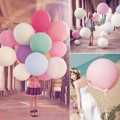 Colorful Big Latex Balloons 18 Inch Wedding Birthday Party Balloon Favors Supply