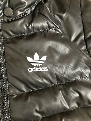 Adidas Winter Black Puffa coat/jacket With Removable Hood 18-24 months -Fab Cond