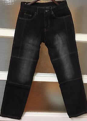 Motorcycle Motorbike Men's jeans pants trousers with protective lining