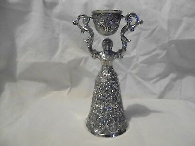 Antique/vintage silver plated German Bridal cup.