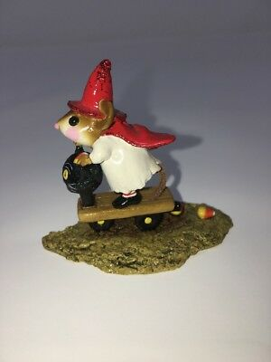 Wee Forest Folk M-296 Scootin' With the Loot
