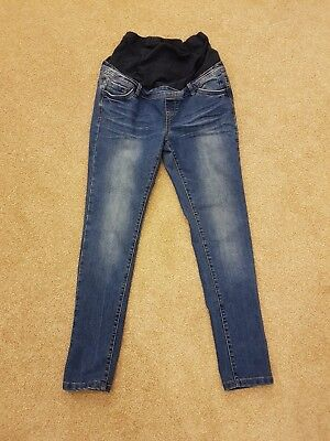 Red Herring Maternity Over Bump Jeans Size 12