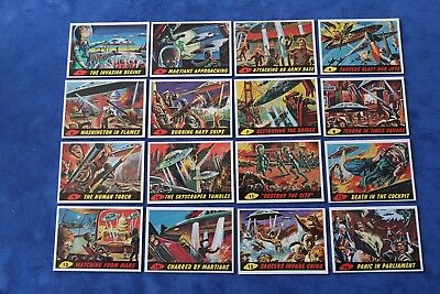 MARS ATTACKS! 1994 30th Ann Reissue Complete Set 0-99 + MATRIX (4) + 2 Wrappers