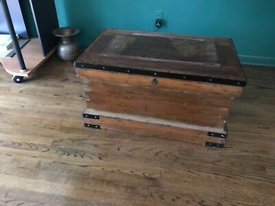 Circa 1860 Sea Captain's Chest