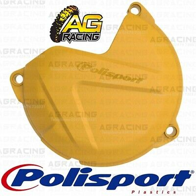 Polisport Yellow Clutch Cover Protector For KTM XC-W 300 2015 Motocross Enduro