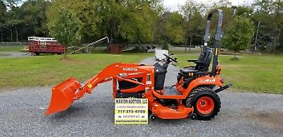 2016 Kubota BX2370 Compact Tractor W/loader And Mower