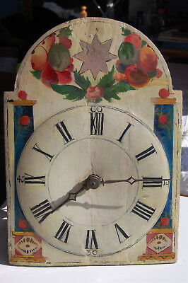 Black Forest 30hr Shield Dial wall clock for SPARES or REPAIR not working