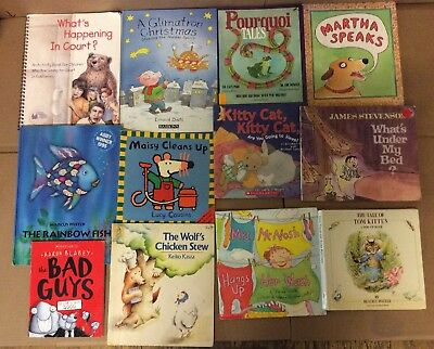 Lot of 20 K-5 Scholastic Learn to Read Picture Mix Set Kid Children Book #K90 NR