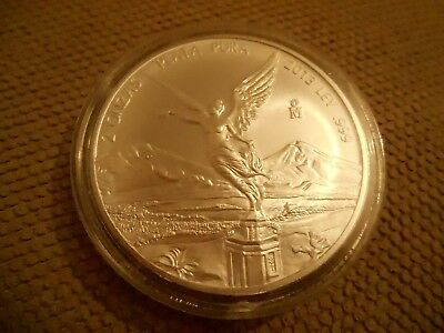 PROOF 2oz PURE SILVER MEXICAN 10 EMBLEMS OF MEXICO 2013 COIN