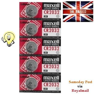 20 x CR2032 BR2032 DL2032 Branded 3V LITHIUM Button Coin Cell Batteries