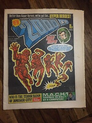 2000AD Programme # 4 19 MARCH 1977 Excellent No rips, tears. Prog 4 2000 AD