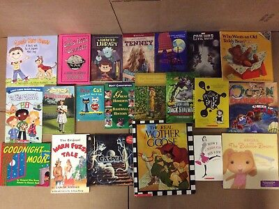 Lot of 20 K-5 Scholastic Learn to Read Picture Mix Set Kid Children Book #K36 NR