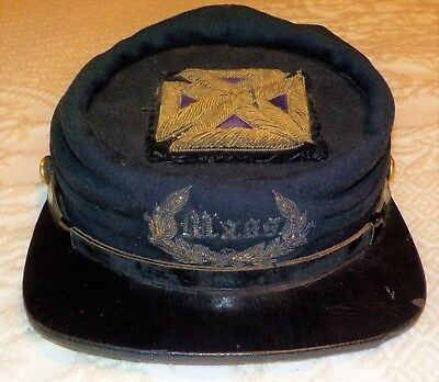 civil war period Union officer's kepi (Massachusettes)