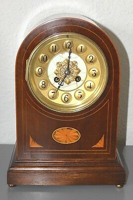 Japy Freres & Cie PARIS - Antique Inlaid mantle clock. Running. Large size