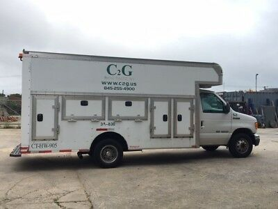 Ford E450 2006 Service Truck Box Truck with Tool Boxes - Farmingdale Long Island