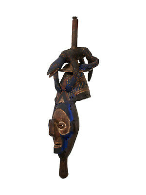 Yaka Kholuka mask, Democratic Republic of the Congo
