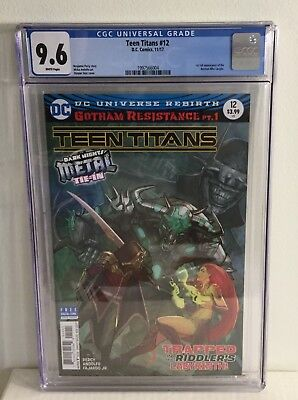 Teen Titans 12 CGC 9.6 1st Appearance of The Batman Who Laughs