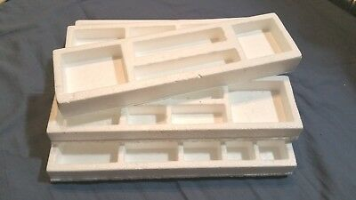 AXIS AND ALLIES second edition: styrofoam organizing trays - 1987 parts