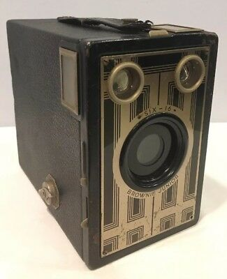 Antique Kodak Box Camera Six-16 Brownie Junior, Free Shipping Within USA LOOK!