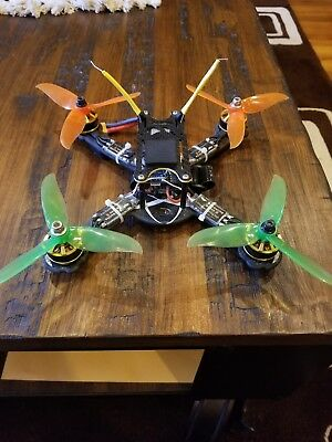 space one fpv 220x custom built racing/freestyle drone