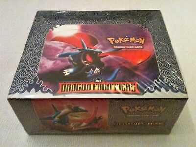 POKEMON TCG: EX Dragon Frontiers booster display USA 2006 emballage vierge