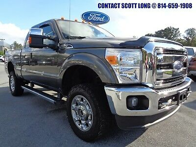 2016 Ford F-250 2016 F-250 SuperCab XLT V8 4x4 Gray 2016 F-250 Super Duty SuperCab 4x4 XLT Premium 6.2L V8 Magnetic Gray 1 Owner 4WD