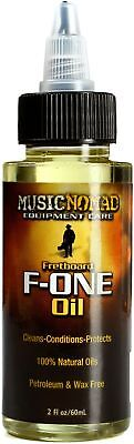 MusicNomad F-One Oil Fretboard Cleaner & Condition