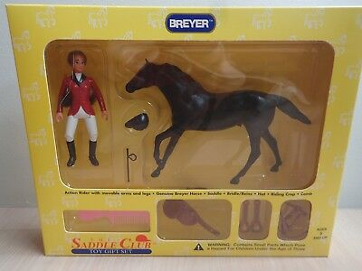 Saddle Club Toy Gift Set #1025 Colbalt and Veronica Show Jumping Set