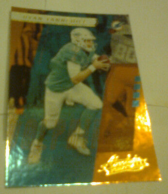 NFL, No. 36 Ryan Tannehill, Quarterback, Dolphins, Panini Absolute Football 2017