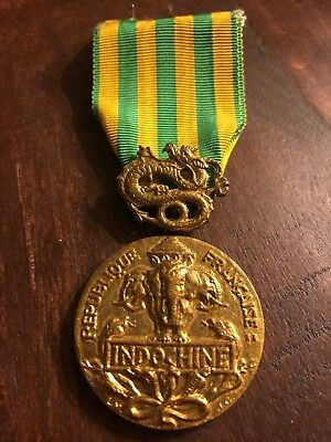 French Indochina Campign Military Medal