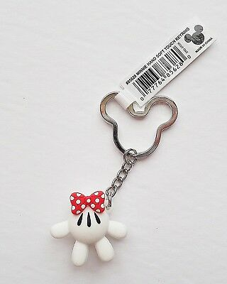 Disney - Minnie Mouse - Minnie Hand with Red Bow - Keychain/Keyring 85628