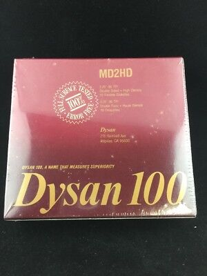 Dyson 100 5.25 5 1/2 in Floppy Diskettes MD2HD Box of 10 (802607-51)