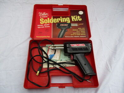 Weller USA soldering gun kit 8200-N with case, manual Excellent Condition