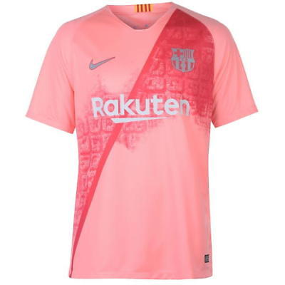 2018/19 | Adults | Barcelona 'Pink' Third Shirt | All Player Names & Customs |