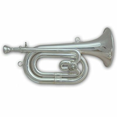 Tuyama SPH-501 Spanish Bugle in CDb silver plated