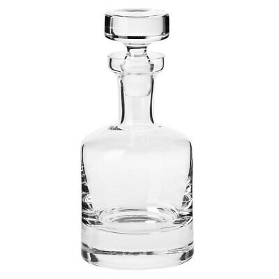 Krosno Sterling 750ml Glass Carafe/Decanter/Bottle Whisky/Rum/Scotch/Liquor