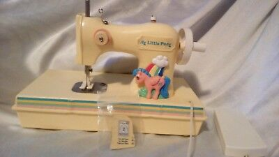 Rare vintage working G1 My Little Pony Sewing Machine.