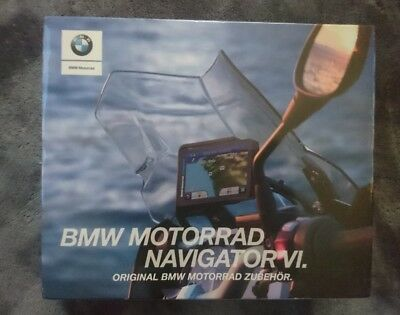 BMW Motorrad Satz Navigator VI 6 Sat Nav - 77528355994 brand new in packaging