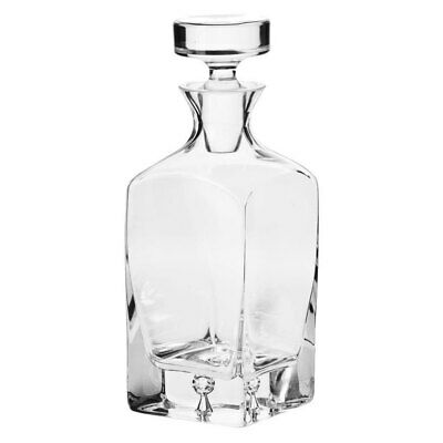 Krosno Legend 750ml Whisky/Scotch/Liquor Glass Carafe/Decanter/Bottle/Pitcher