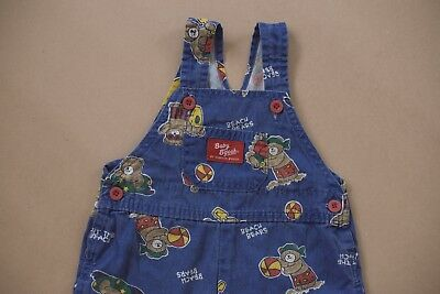 Oshkosh Vintage Overalls Shortalls Made In USA Super Rare Size 18 Months