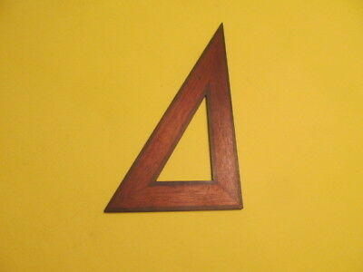 Vintage Wood Triangle #10 Drafting Tools Eugene Dietzgen Co.