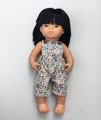 Doll Clothes Overall Short Legs For miniland 38cm
