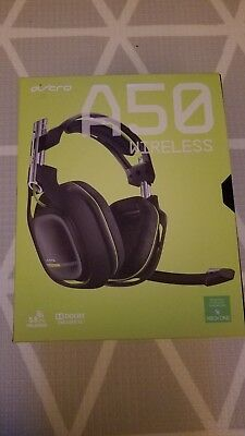 ASTRO A50 Wireless Headset ONLY for Xbox One - Grey/Green