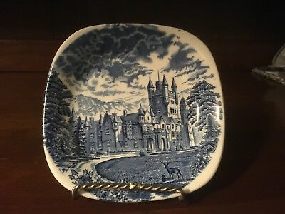 Vintage Enoch Wedgwood/Tundstall Royal Homes of Britain Butter Pat