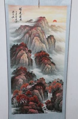 Old Collection Scroll Chinese Painting /Landscape Painting