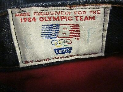 LEVI'S Vintage Olympic Games USA Jeans 1984 LEVI STRAUSS & CO Size 26X32